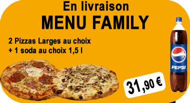 menu family Pizza Story